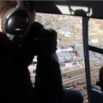 Flyfoto fra helikopter i Trøndelagh