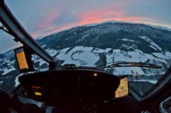 Helikopter-leie-transport-Pris-II