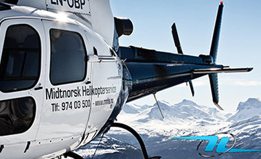 Maks høyde helikopter