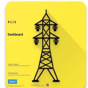 Online dashboard for linjeinspeksjon fra helikopter