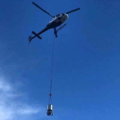Betongtransport lasteflyging helikopter line pris